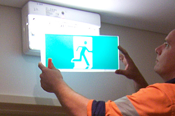 Exit & Emergency Lighting | Argos Fire Safety